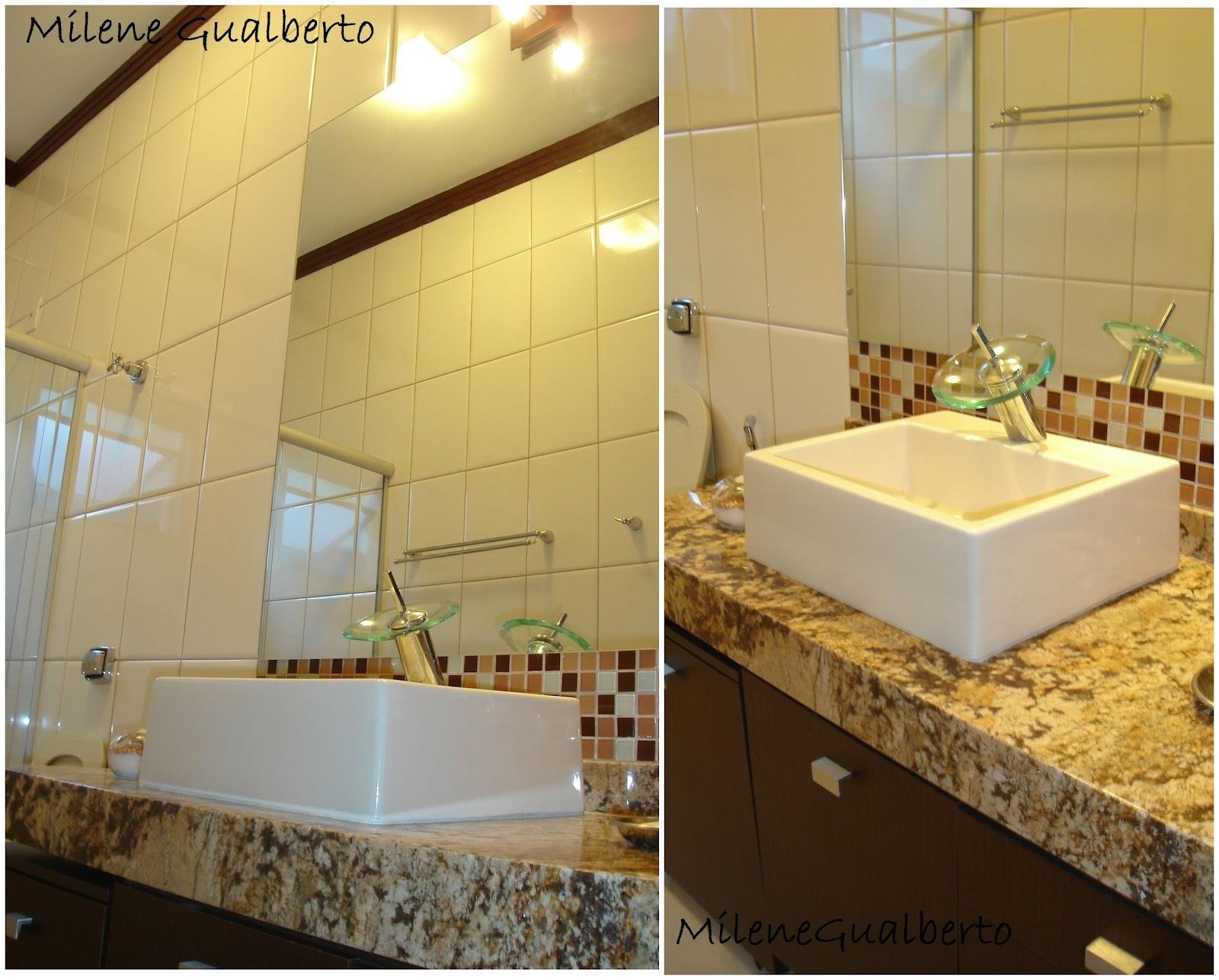 Gabinete Para Banheiro: Projeto banheiro pequeno simples #AA8021 1600 1286