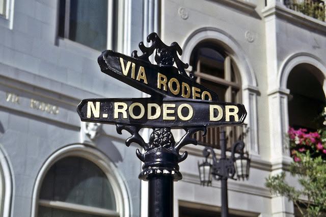 Rua Rodeo Drive em LA