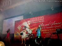 The Electric Violin performance LIVE at Ricoh's Annual Dinner Event
