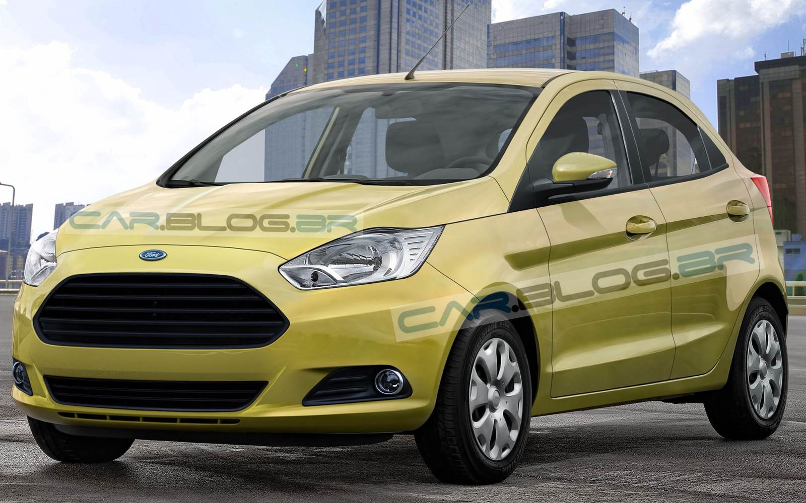 2014 - [Ford] Ka III/Ka Sedan/Figo Novo-Ford-Ka-2014