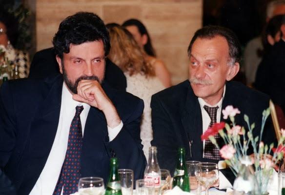 Με τον Πρύτανη Ιωάννη Αντωνόπουλο κατά τη διάρκεια των Πρυτανικών εκλογών