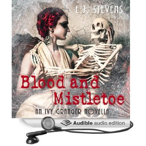 Blood and Mistletoe Audiobook by E.J. Stevens narrated by Melanie Mason and David Wilson-Brown