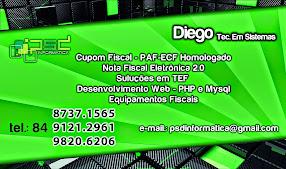 Diego Tec. em Sistemas