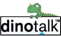 der Dinotalk- Dinosaurier