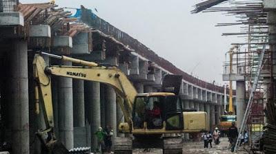 Pembangunan Tol Suroboyo - Mojokerto Terus Di Kebut
