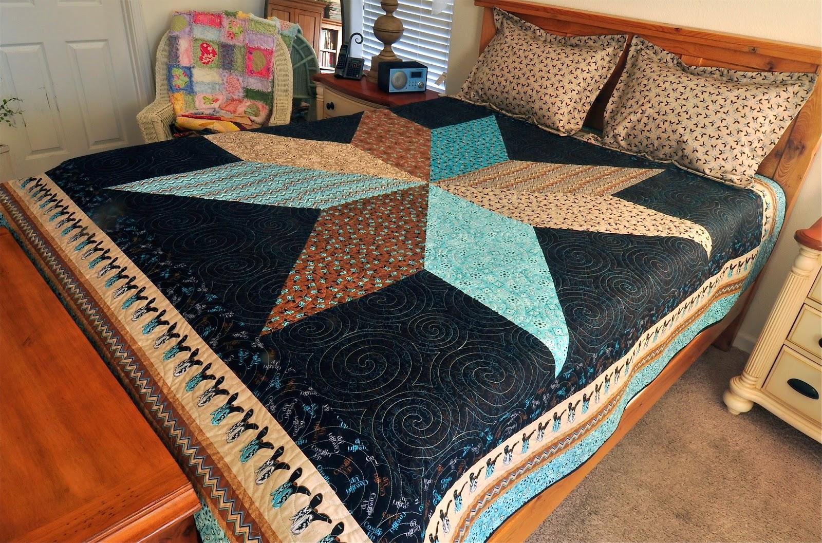 BiggiWink's Fabrications: Cowgirl / Cowboy Western Quilt : western quilting fabric - Adamdwight.com