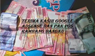 Cara Mendapat Uang Dari Google Adsense