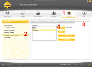 Cara Setting Modem Telkomsel 3 AXIS XL IM3