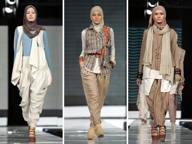 Model Baju Muslim Wanita Pomp