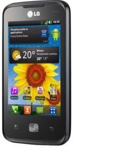 LG Optimus Hub Shown at the FCC