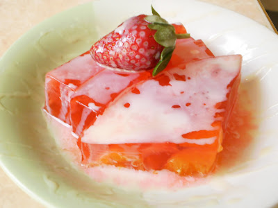 Resep Jelly Buah Strawberry | Menu Buka Puasa