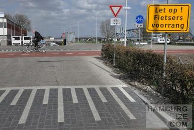 Nijmegen - Snelfietsroute Waalbandijk