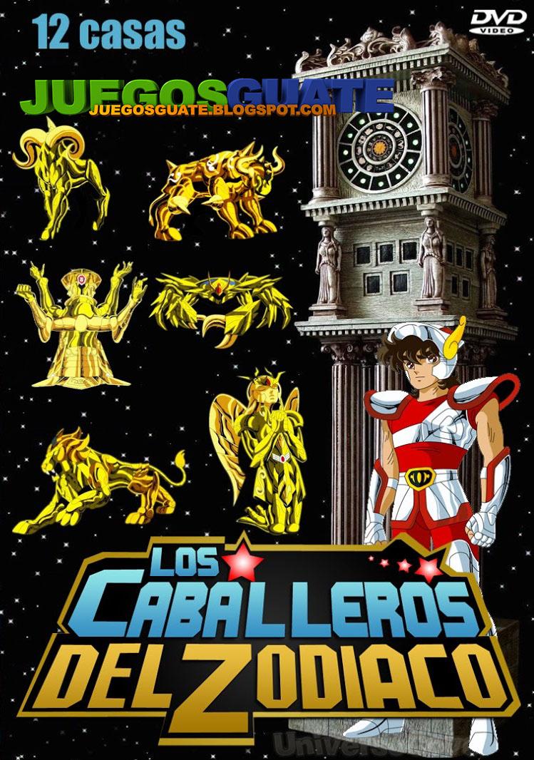 Peliculas series juegos de pc xbox 360 ps3 ps2 psp wii ds android los caballeros del - Casas del zodiaco ...