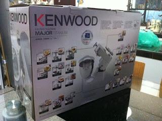 Perjalanan Sehala Projek Alat Mixer KENWOOD TITANIUM