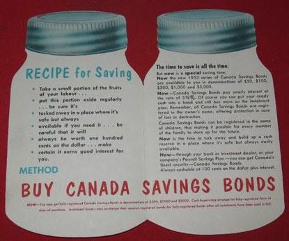 canada savings bond mature