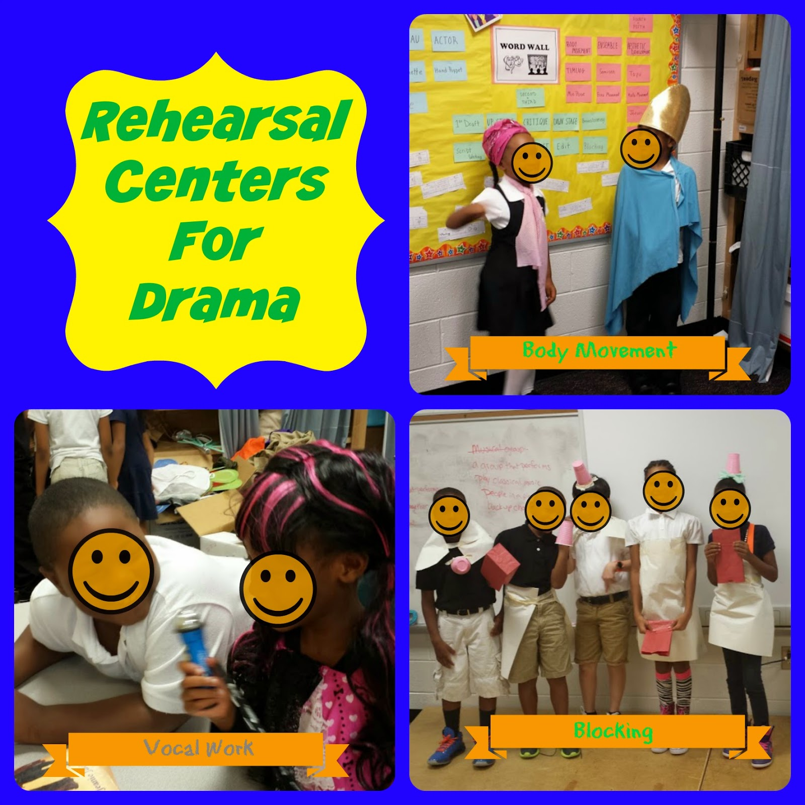 #Centers #Arts Integration #Theatre #rehearsals