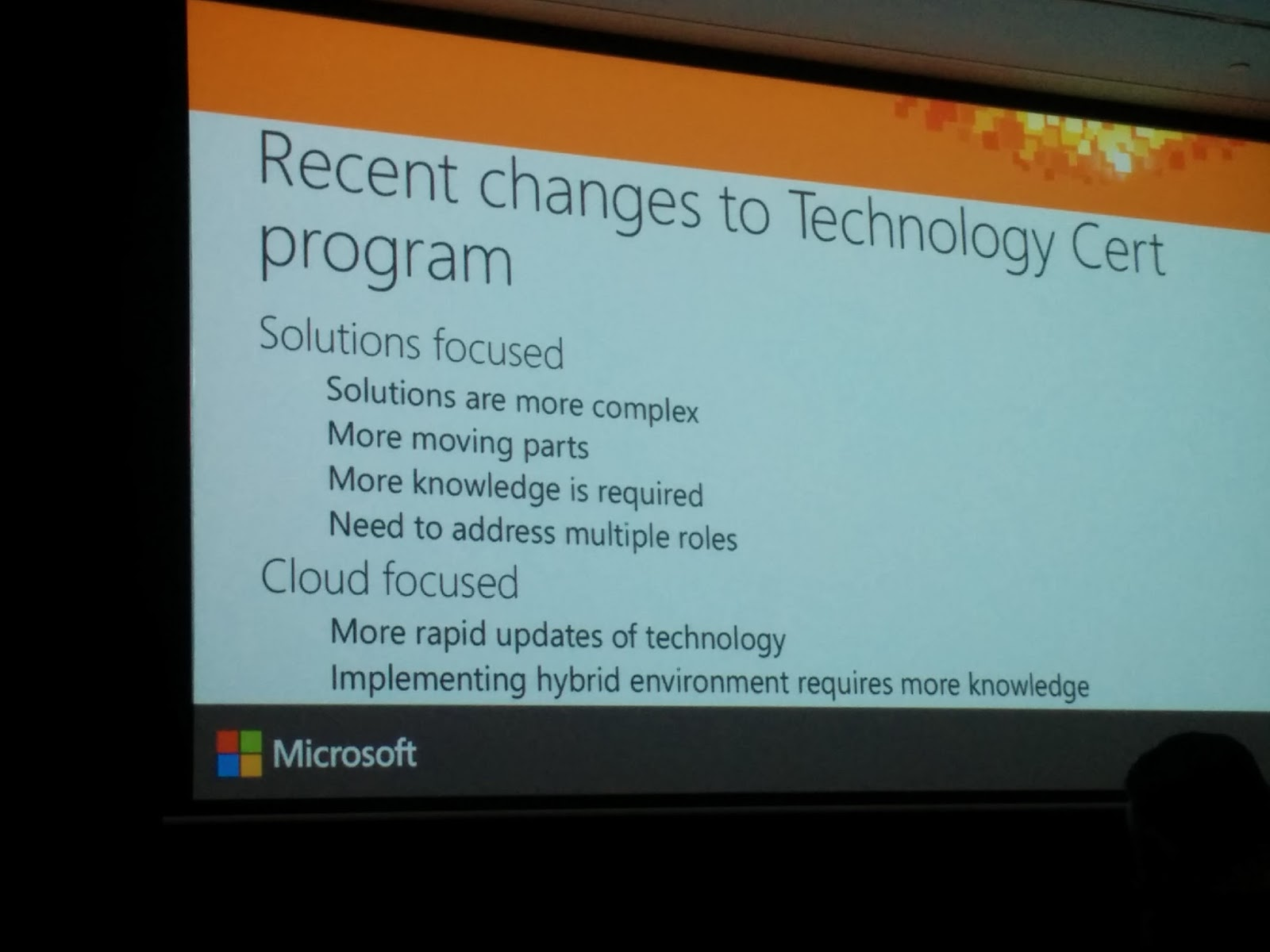 The baretta ms ignite certification 101 find the path exam111 my musings the best thing about this session was seeing the official microsoft certification roadmap provided below 1betcityfo Image collections