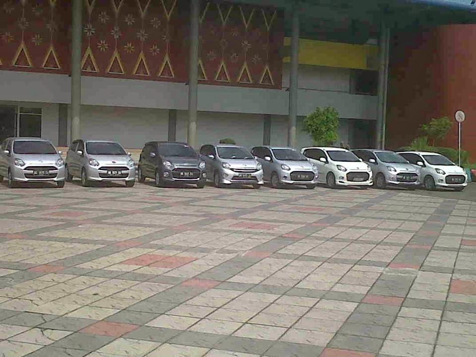 Komunitas Pecinta AYLA - Agya Gelar Acara Silahturahmi Di Stadion Gelora Sriwijaya jakabaring Palembang