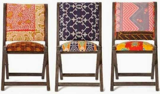 Upholstered Wooden Folding Chairs happy shopping: nine anthropologie furniture hacks