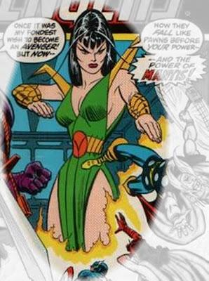 Avengers #114, Mantis