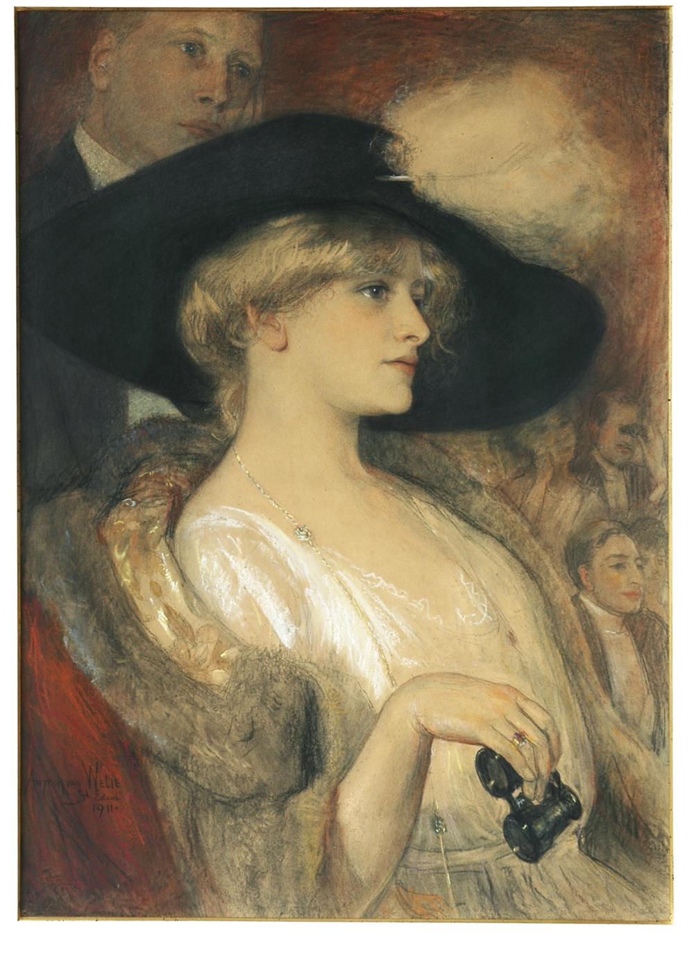 Modern Ophelia Painting