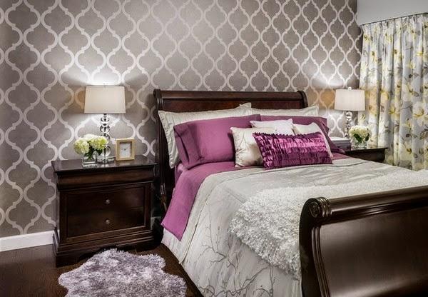 Dormitorios en morado y gris dormitorios colores y estilos for Dormitorio lila y gris