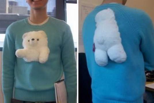 sweater boneka