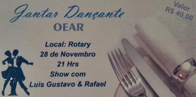 Roncador: OEAR realiza jantar dançante