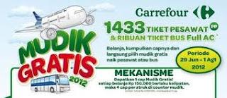 CAREFOUR Mudik Bareng Gratis 2012