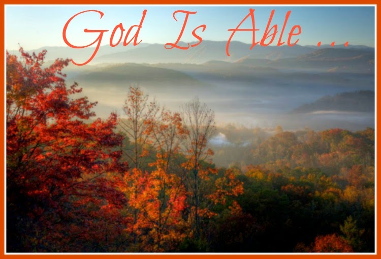God Is Able...