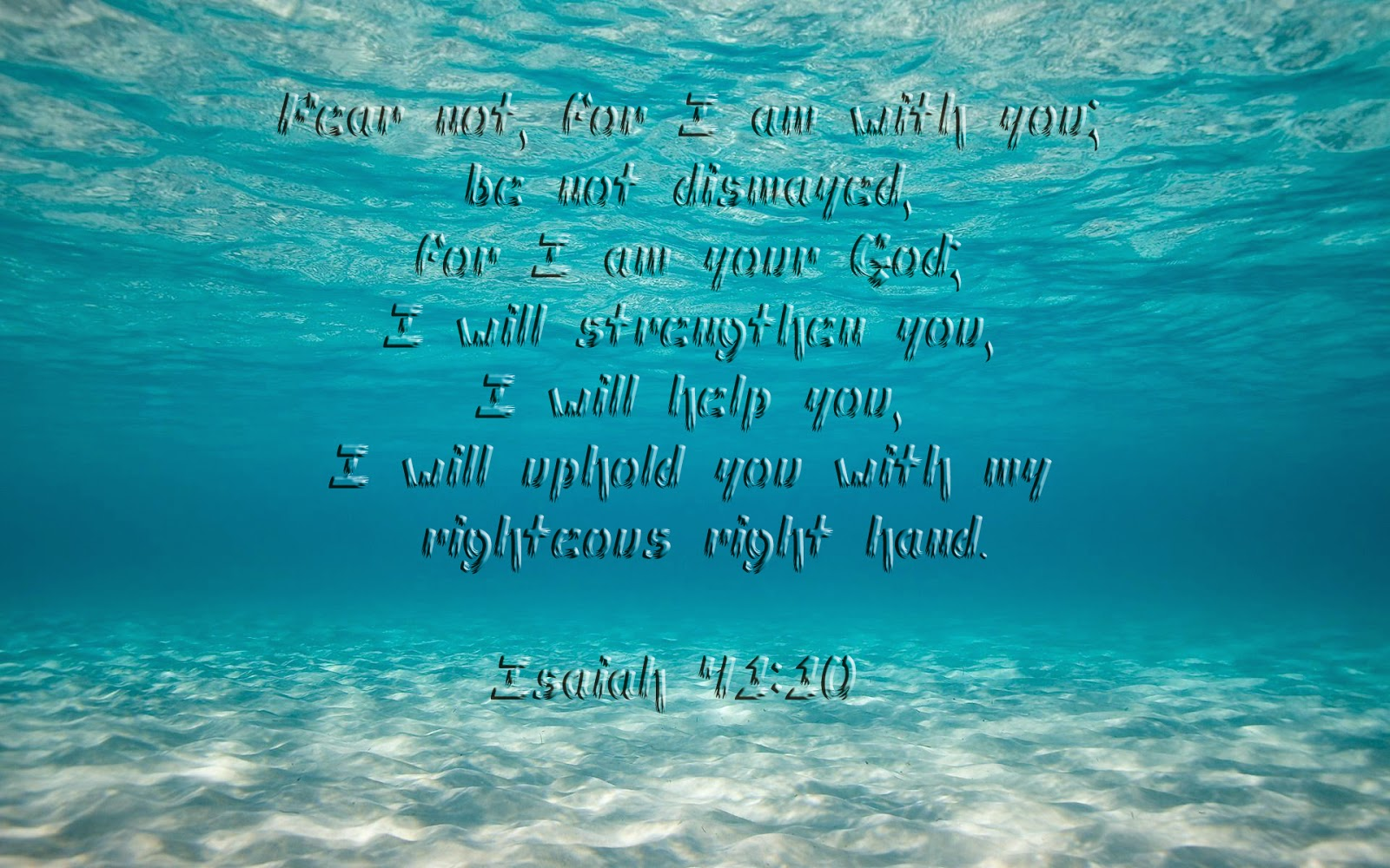 Isaiah 41 10 Bible Verse Wallpaper