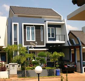 Desain Rumah 2 Lantai Modern
