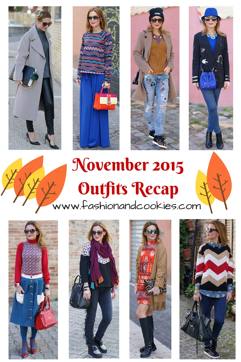 Welcome december, outfits recap from November on Fashion and Cookies fashion blog, fashion blogger style