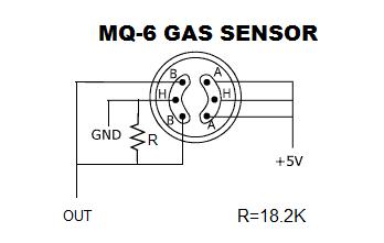 gas leakage detector with mq 6 gas sensor rh gasleakagedetector blogspot com