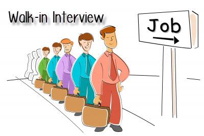 Tips menghadapi lowongan kerja Walk in Interview