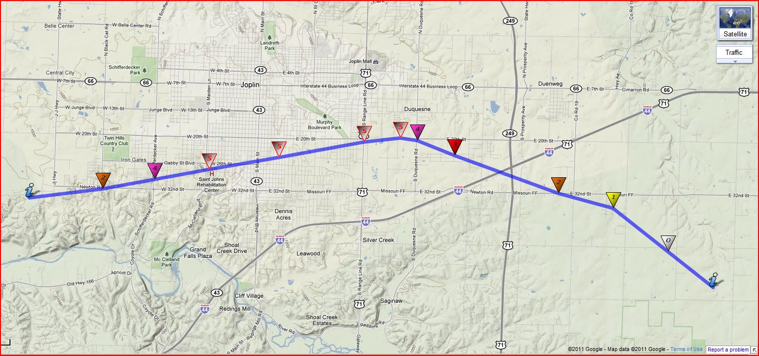 CapitalClimate NOAANational Weather Service Updates Joplin Tornado