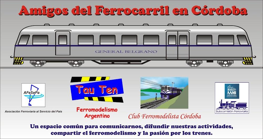 Amigos del Ferrocarril en Córdoba