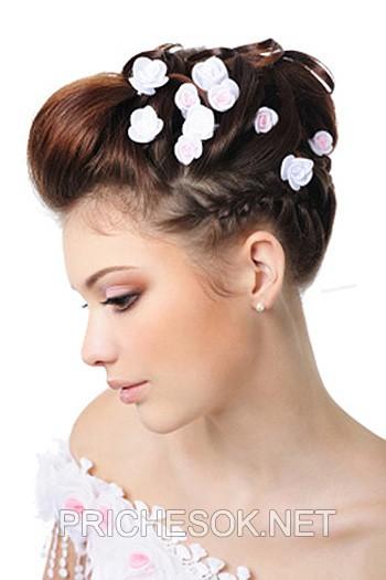 Зачіски на весілля весільні зачіски