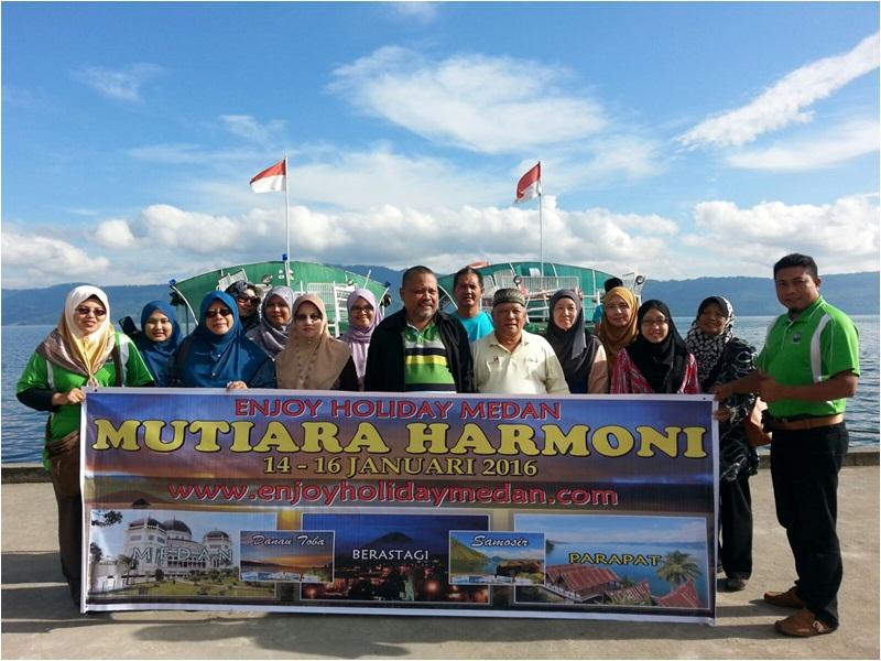 Paket Wisata Danau Toba 3 Hari 2 Malam 14 - 16 Januari 2016