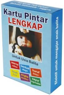 kartu belajar lengkap untuk bayi