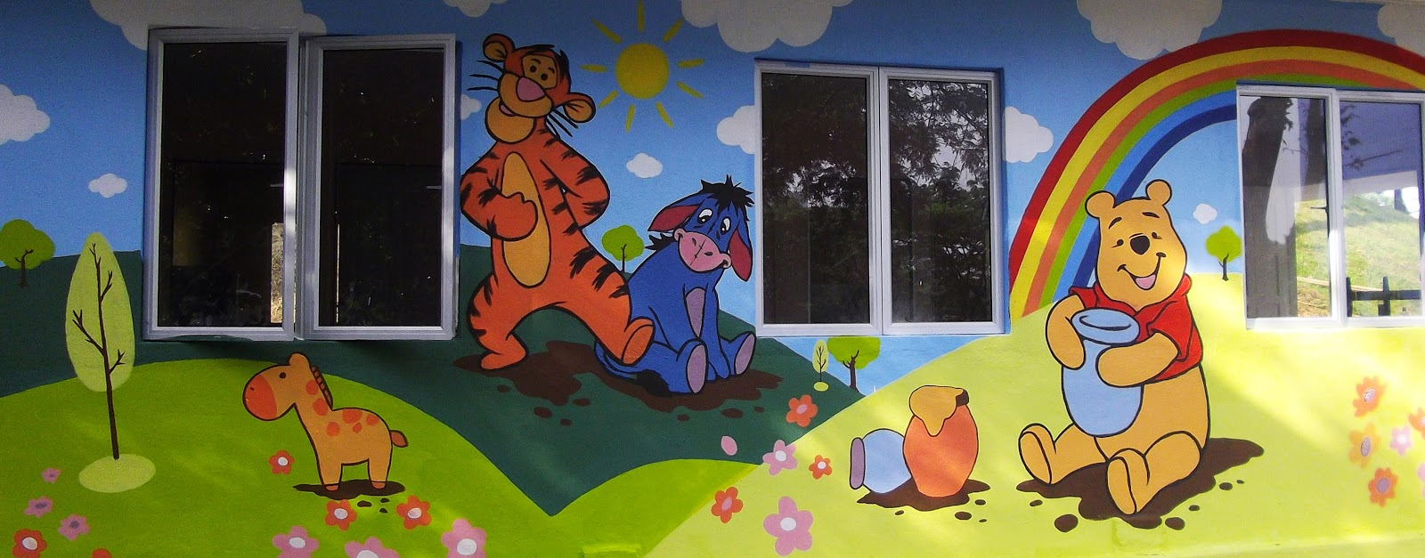 Warna arts mural art painting for all for Commercial mural painting