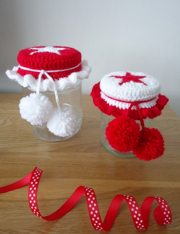 Dinki Dots Craft Free Tutorial Christmas Star Jar Covers