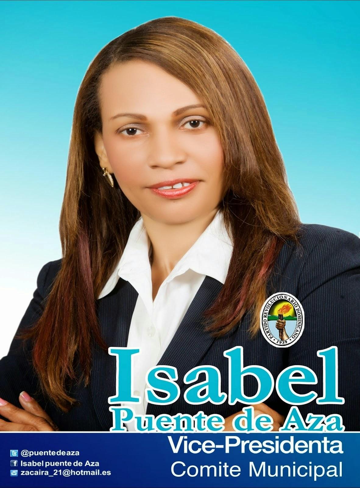 Regidora Isabel Puente de Aza