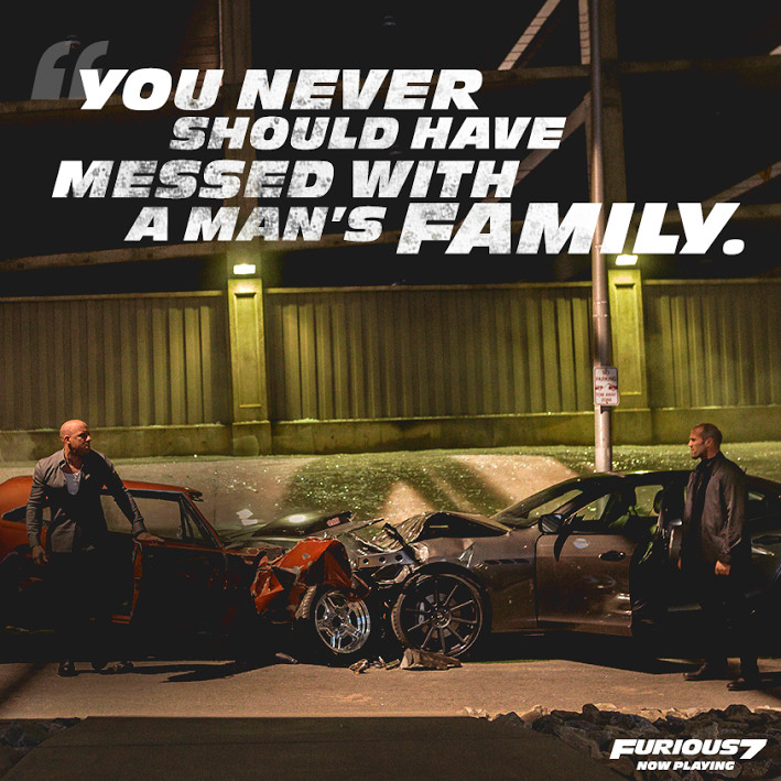 Fast 7 Quotes About Love : Furious 7 Love Quotes. QuotesGram