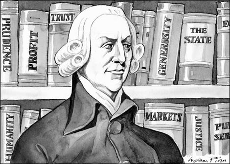adam smith, Libéralisme