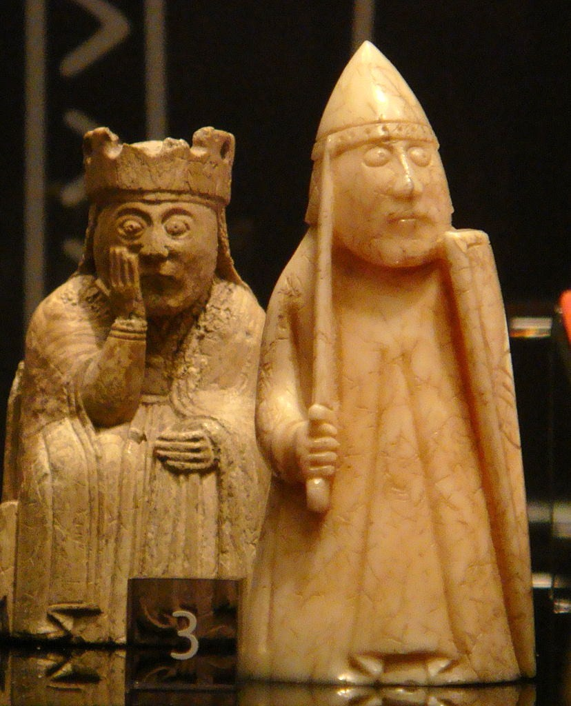 Ultima thule the lewis chessmen the oldest northern - The chessmen chess set ...