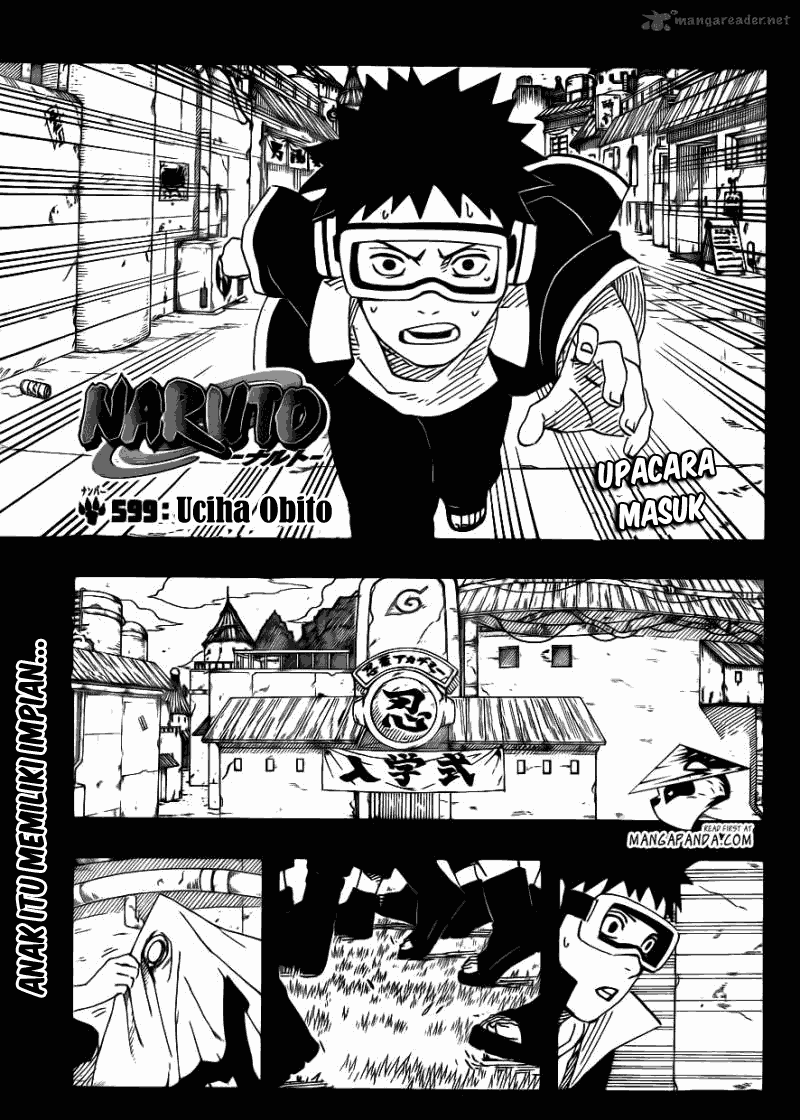 Baca manga komik Naruto chapter 599 bahasa Indonesia