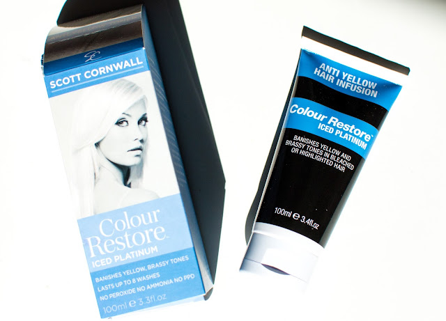 Scott Cornwall Colour Restore Toner Iced Platinum