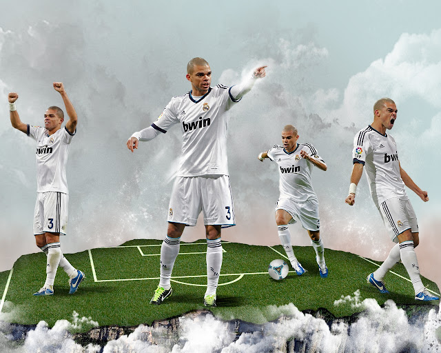 New Pepe wallpaper HD Real madrid 2013 - 2014