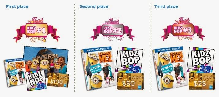 KIDZ BOP contest